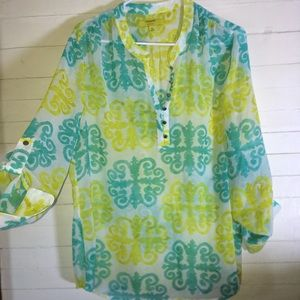 Banana Republic Milly Collection Tunic Top